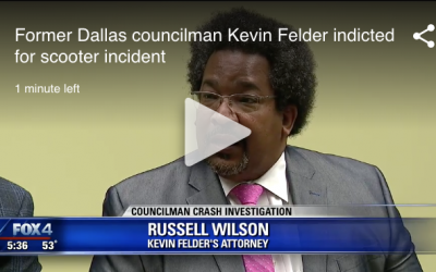 Russell Wilson Represent Former Dallas City Councilman Kevin Felder